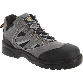 Chaussures Homme Chaussures de sécurité Grafters  Gris foncé/Noir