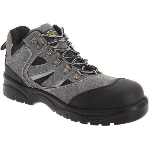 noir Noir UK Mens Size 9 Grafters Chaussures de s/écurit/é pour homme