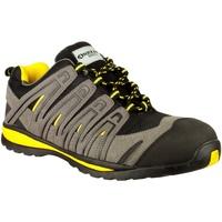 Chaussures Homme Baskets basses Amblers 42C S1P HRO Noir / gris / jaune