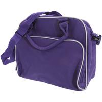 Sacs Enfant Cartables Bagbase BG145 Violet/Gris clair