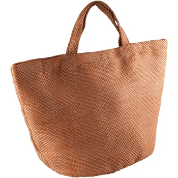 Sacs Femme Cabas / Sacs shopping Kimood  Naturel/Safran
