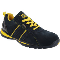 Chaussures Homme Baskets basses Grafters  Bleu marine/Jaune