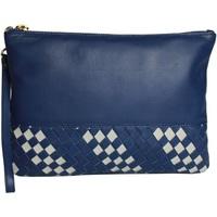 Sacs Femme Pochettes de soirée Eastern Counties Leather  Bleu/ Beige