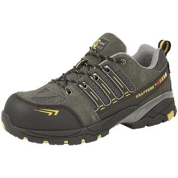 Chaussures Homme Chaussures de sécurité Grafters  Gris / jaune