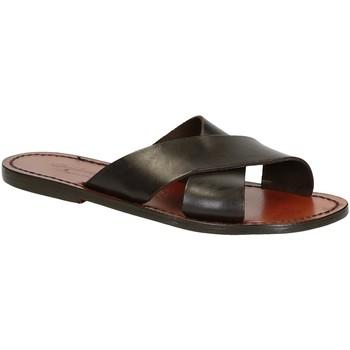 Chaussures Homme Sandales et Nu-pieds Gianluca - L'artigiano Del Cuoio 560 D MORO CUOIO Testa di Moro