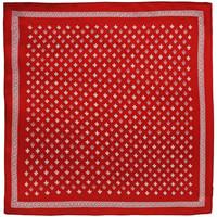 Accessoires textile Femme Echarpes / Etoles / Foulards Allée Du Foulard Carré de soie Piccolo Roy Rouge