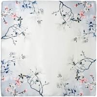 Accessoires textile Femme Echarpes / Etoles / Foulards Allée Du Foulard Carré de soie Piccolo Sanai - 50x50 cm gris