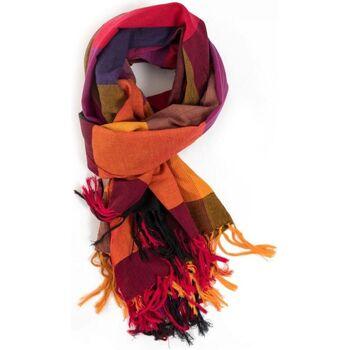 Accessoires textile Echarpes / Etoles / Foulards Fantazia Cheche foulard etole new madras sienna carnaval Orange