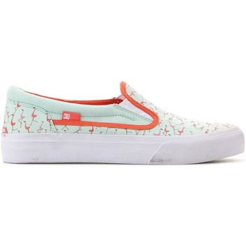 Chaussures Femme Slip ons DC Shoes Trase Slipon SP Vert clair