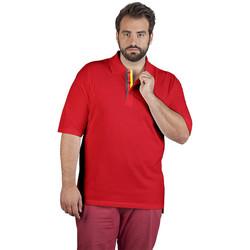 Vêtements Homme Polos manches courtes Promodoro Polo supérieur Fan Allemagne grandes tailles Hommes rouge feu