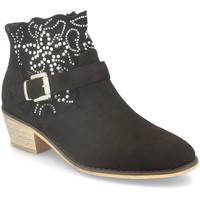 Chaussures Femme Bottines Flyfor J120 Negro