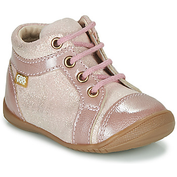 Chaussures Fille Boots GBB OMANE Rose