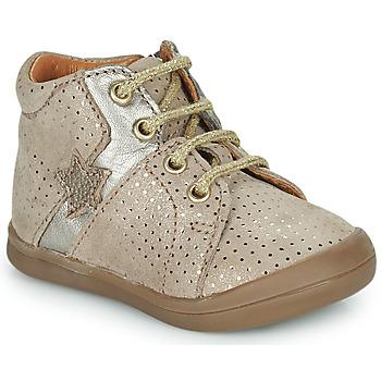 Chaussures Fille Baskets montantes GBB DUANA Beige