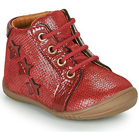 Chaussures Fille Boots GBB DAVIA Rouge