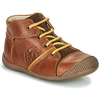 Chaussures Garçon Boots GBB OULOU Marron