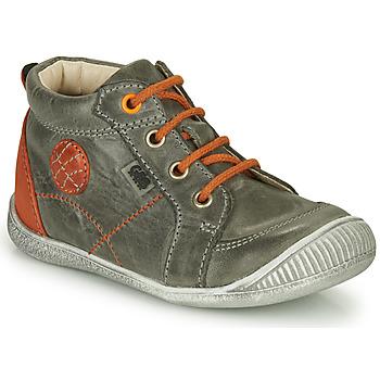 Chaussures Garçon Baskets montantes GBB OLAN Gris