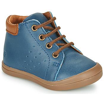Chaussures Garçon Baskets montantes GBB TIDO Bleu