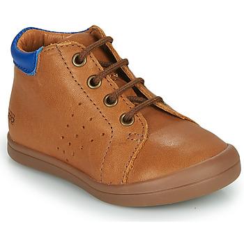 Chaussures Garçon Baskets montantes GBB TIDO Marron