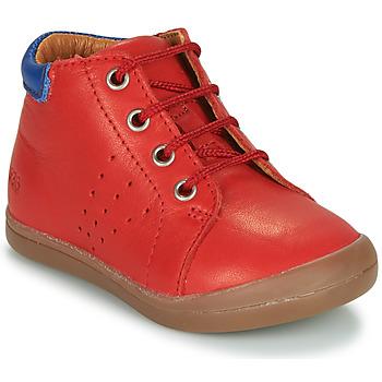 Chaussures Garçon Boots GBB TIDO Rouge