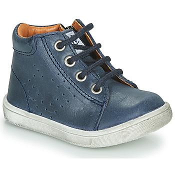 Chaussures Garçon Boots GBB FOLLIO Bleu