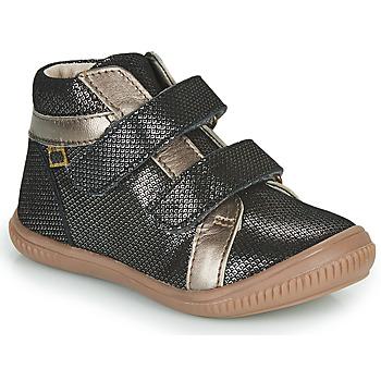 Chaussures Fille Baskets montantes GBB EDEA Noir