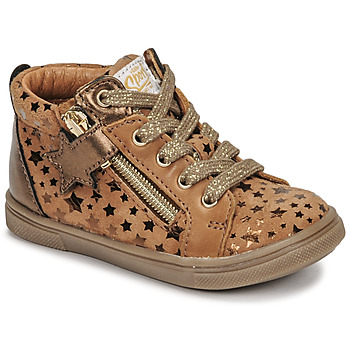 Chaussures Fille Baskets montantes GBB VALA Marron