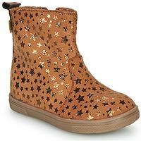 Chaussures Fille Boots GBB ERNA Cognac