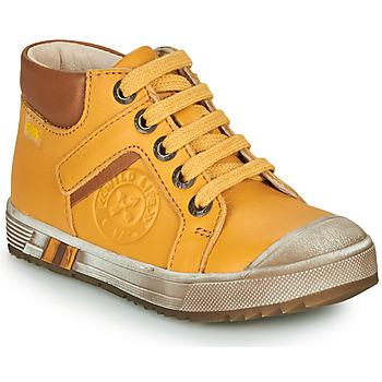 Chaussures Garçon Baskets montantes GBB OLANGO Jaune