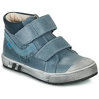 Chaussures Garçon Baskets montantes GBB OMALLO Bleu