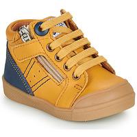 Chaussures Garçon Baskets montantes GBB ANATOLE Orange