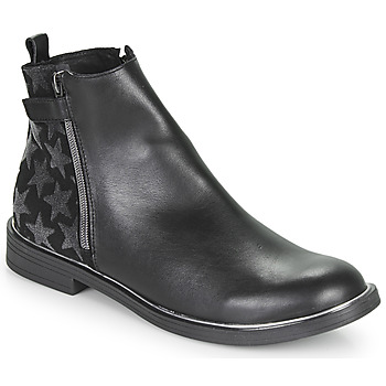 Chaussures Fille Boots GBB XIANA Noir