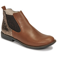 Chaussures Fille Boots GBB NAKOVO Marron