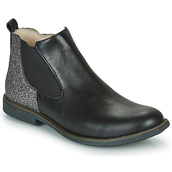 Chaussures Fille Boots GBB NAKOVO Noir