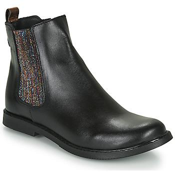Chaussures Fille Boots GBB ARANA Noir