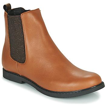 Chaussures Fille Boots GBB ARANA Cognac