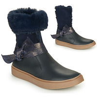 Chaussures Fille Bottes ville GBB EVELINA Marine