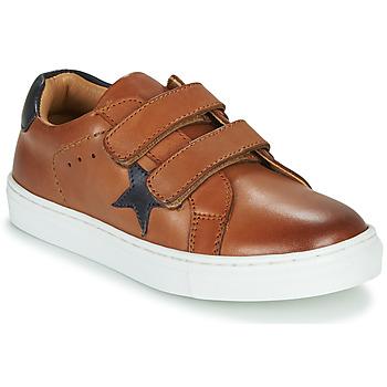 Chaussures Garçon Baskets basses GBB DANAY Marron