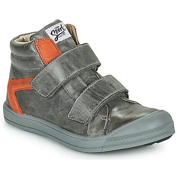 Chaussures Garçon Baskets montantes GBB KOLAN Gris