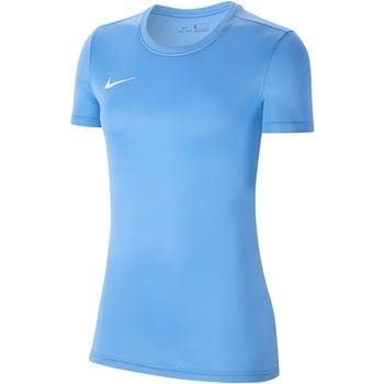 Vêtements Femme T-shirts manches courtes Nike Dry Park VII SS Jersey Women Blau
