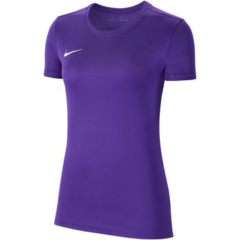 Vêtements Femme T-shirts manches courtes Nike Dry Park VII SS Jersey Women Violett