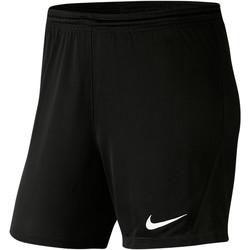Vêtements Femme Shorts / Bermudas Nike Park III Knit Short NB Women Schwarz