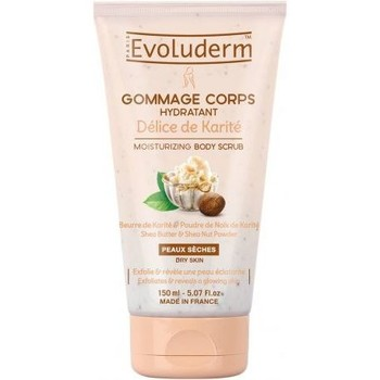 Beauté Femme Gommages & peelings Evoluderm Gommage Corps Hydratant délice de Karité   150ml Autres
