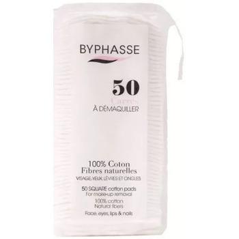 Beauté Femme Accessoires visages Byphasse Disques 100% coton fibres naturelles x50 Carrés Autres
