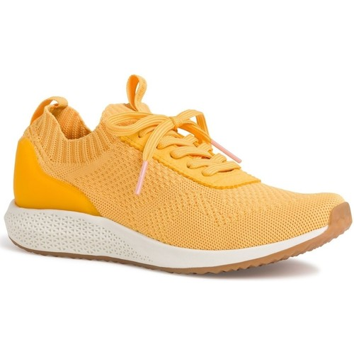 Chaussures Femme Baskets basses Tamaris 23714 Jaune