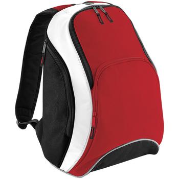 Sacs Sacs à dos Bagbase BG571 Rouge/Noir/Blanc