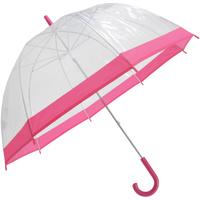 Accessoires textile Parapluies Universal Textiles  Transparent/Rose
