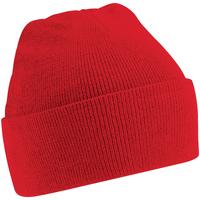 Accessoires textile Enfant Bonnets Beechfield Knitted Rouge