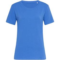 Vêtements Femme T-shirts manches courtes Stedman Stars Claire Bleu
