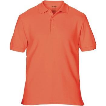 Vêtements Homme Polos manches courtes Gildan Premium Orange saumon