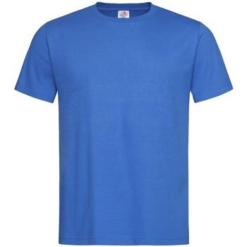 Vêtements Homme T-shirts manches courtes Stedman Classics Bleu
